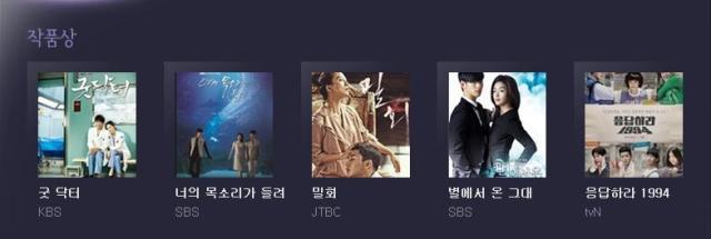 50baeksang- best drama