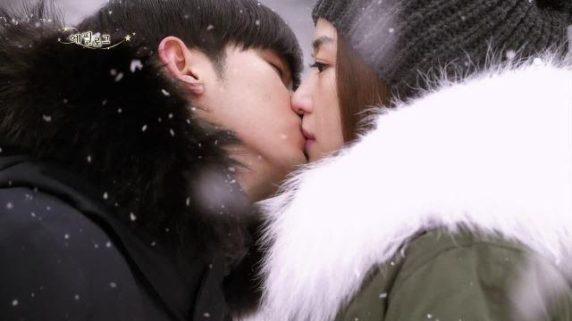 star-snow kiss